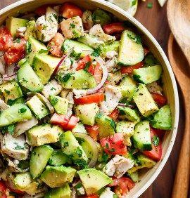 Herb Mediterranean Chicken Salad