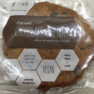 Barr Necessities Chocolate Walnut Cookie