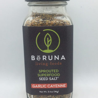 be Runa Sprouted Superfood Seed Salt - Garlic Cayenne