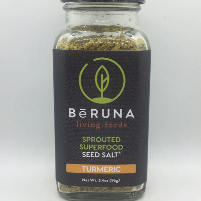 be Runa Sprouted Superfood Seed Salt - Turmeric