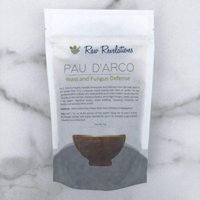 Raw Revelations Pau D'Arco Tea