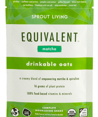 Sprout Living Drinkable Oats Matcha