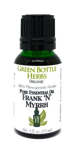 Green Bottle Herbs Organic Essential Oil