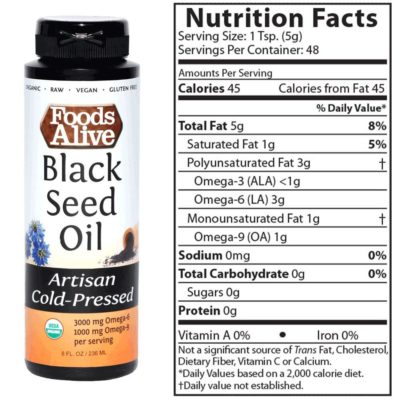 Foods Alive Black Seed Oil