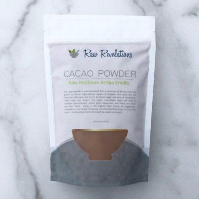 Raw Revelations Cacao Powder