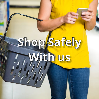 Shop safely with us