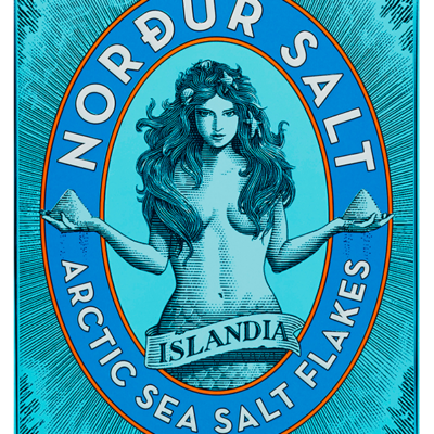 Nordur Salt, Front of package