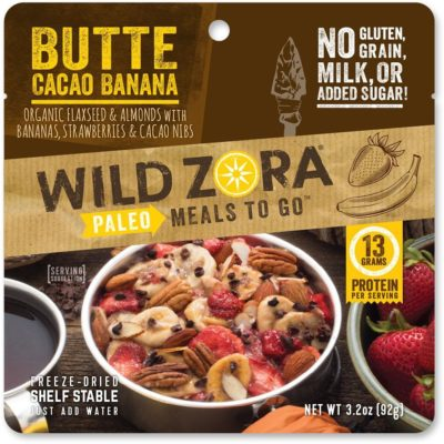 Wild Zora Butte Cacao Banana Breakfast, front of product