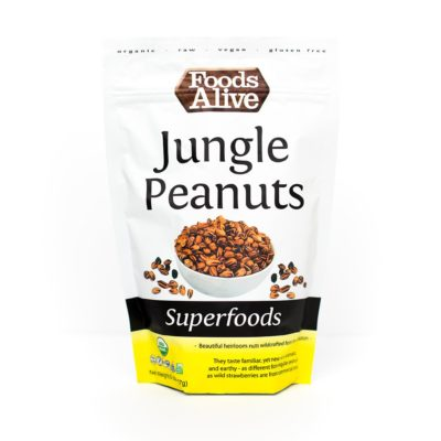 Foods Alive Jungle Peanuts - Front of Package