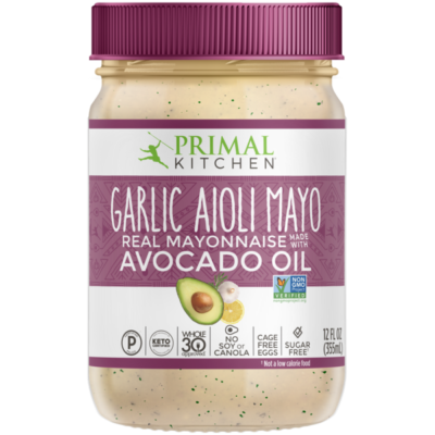 Primal Kitchen Garlic Aioli Mayo - Front of Package