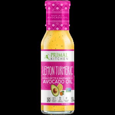 Primal Kitchen Lemon Tumeric - Front of Package