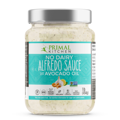 Primal Kitchen Alfredo Sauce- Front of Package
