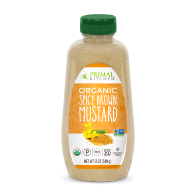 Primal Kitchen Spicy Brown Mustard - Front of Package