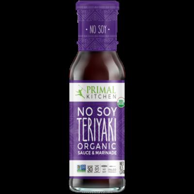 Primal Kitchen Teriyaki Sauce - Front of Package