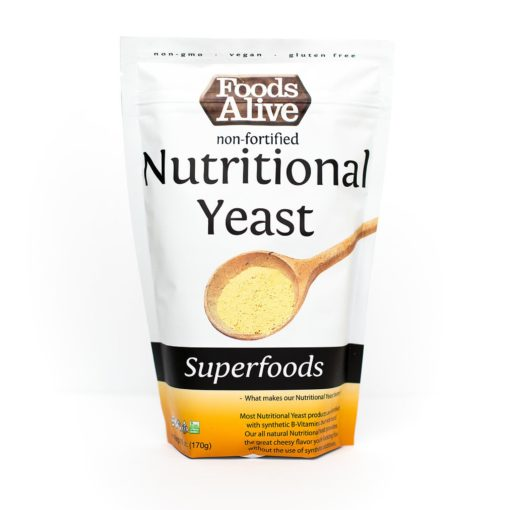 Foods Alive Nutritional Yeast - Front of Package