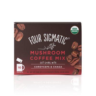 Four Sigmatic Mushroom Coffee With Cordyceps & Chaga