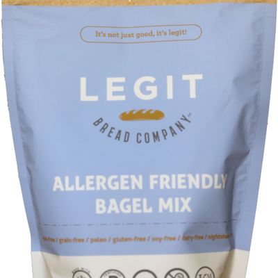 Legit Bagel Mix - Front of Package
