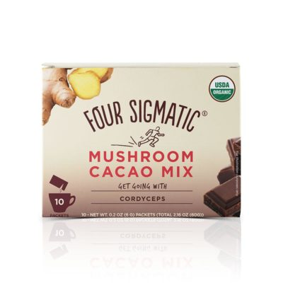 Four Sigmatic Mushroom Cacao Mix with Cordyceps - Front of Package