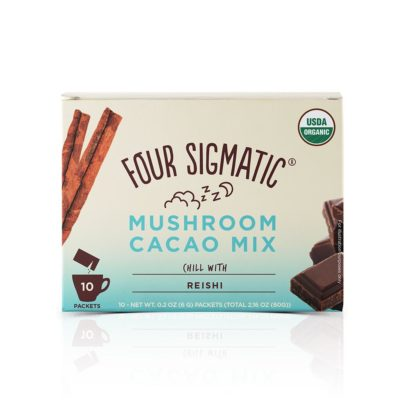 Four Sigmatic Mushroom Cacao Mix with Reishi - Front of Package