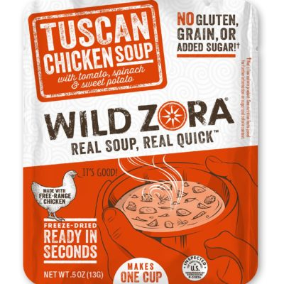 Wild Zora Tuscan Chicken Soup - Front of Package