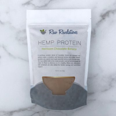 Raw Revelations Hemp Protein