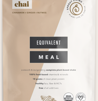 Sprout Living Equivalent Meal Chai
