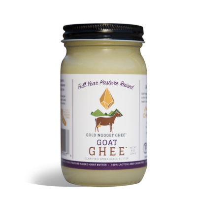 Gold Nugget Goat Ghee