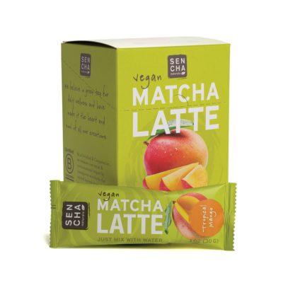 Sencha Matcha Latte Tropical Mango