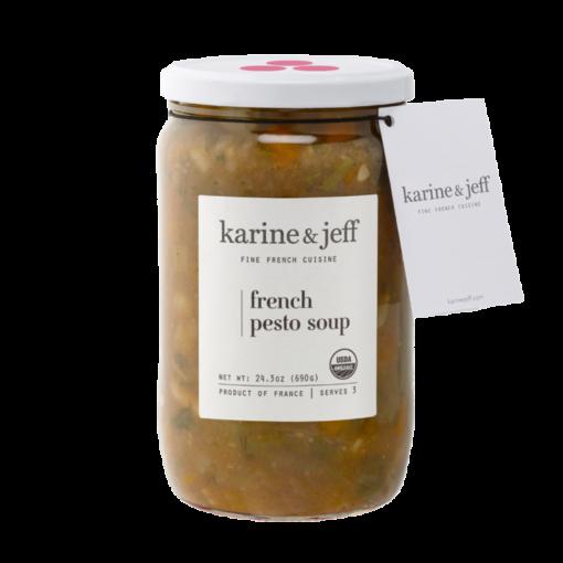 Karine & Jeff French Pesto Soup