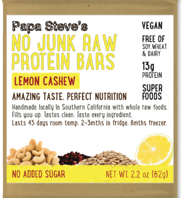 Papa Steve's Lemon Cashew