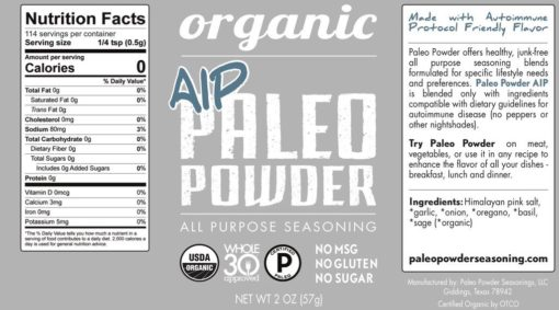 paleo powder back