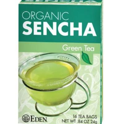 green tea front