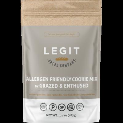 Allergen friendly cookie mix